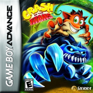 Crash of the Titans - Game Boy Advance Game