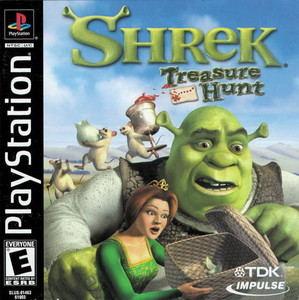 Complete Shrek Treasure Hunt - PS1 Game