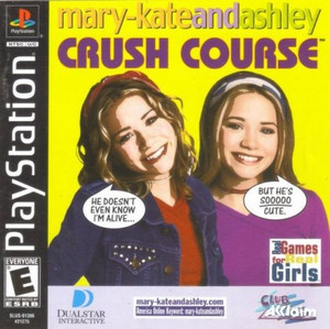 Mary-Kate & Ashley Crush Course - PS1 Game