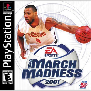 NCAA MARCH MADNESS 2001 - PS1 Game