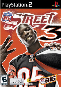 NFL Street 3 - PS2 Game