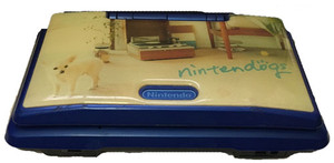 Nintendo DS Skinned Nintendogs Blue with Charger