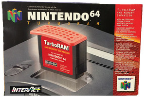 Complete Interact Nintendo 64 Turbo Ram Expansion Pak - N64