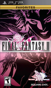 Final Fantay II 20th Anniversary - PSP Game