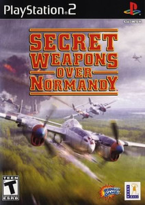Secret Weapons Over Normandy - PS2 Game