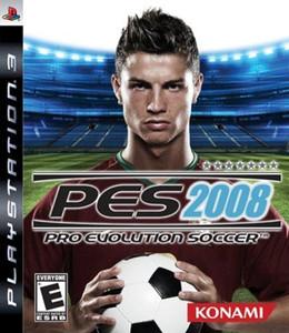 Pro Evolution Soccer 2008 - PS3 Game