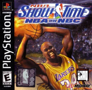 NBA Show Time NBA on NBC - PS1 Game