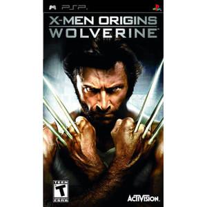 X-Men Origins Wolverine - PSP Game