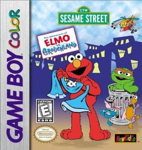 Elmo in Grouchland - Game Boy Color Game