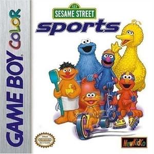 Sesame Street Sports - Game Boy Color Game
