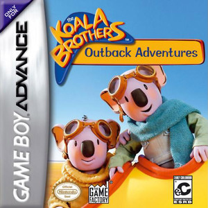Koala Brothers: Outback Adventure - Game Boy Advance Game