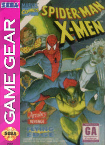 Spider-Man/X-Men: Arcade's Revenge - Game Gear Game