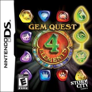 Gem Quest: 4 Elements - DS Game