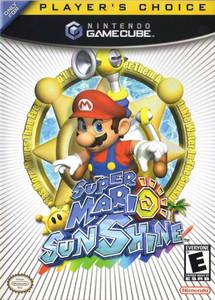 New Sealed Super Mario Sunshine Player's Choice - GameCube Game