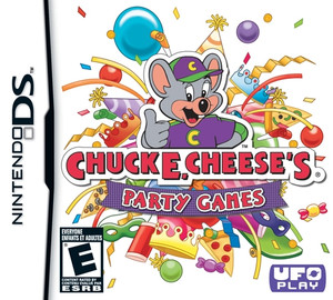 Chuck E Cheese's Party Games - DS Game