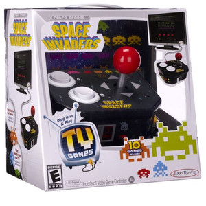 New Space Invaders 10 in 1 Plug and Play TV Game