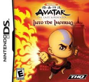 Avatar The Last Airbender Into the Inferno - DS Game