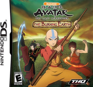 Avatar The Last Airbender Into the Burning Earth - DS Game