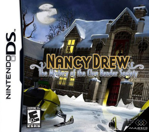 Nancy Drew The Mystery of the Clue Bender Society - DS Game