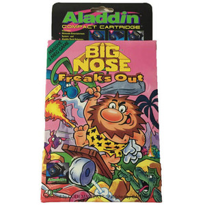 New Big Nose Freaks Out Aladdin Compact Cartridge - NES Game