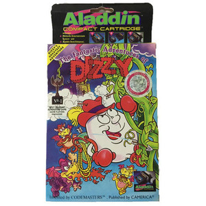 New Fantastic Adventures of Dizzy, The Aladdin Compact Cartridge - NES Game
