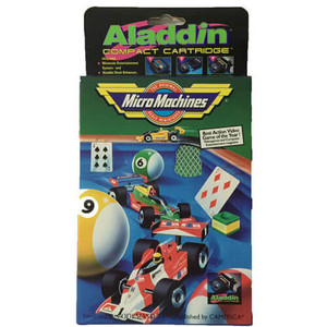 Micro Machines Aladdin Compact Cartridge - NES Game