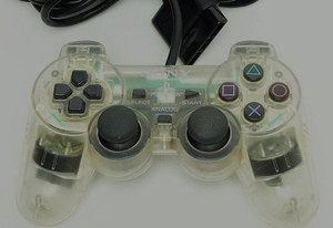 Original Analog Clear Controller - PS1