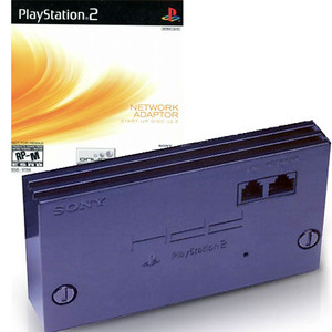 Playstation 2 Internet Network Adapter with Start Up Disc 2.5 - PS2