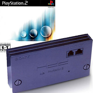 Playstation 2 Internet Network Adapter with Start Up Disc 2.0 - PS2