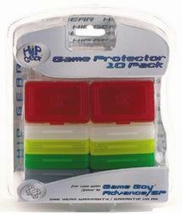 Hip Gear Game Protector 10 Pack - Game Boy Advance