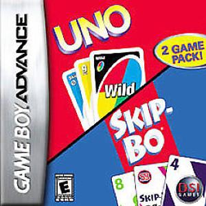 Complete Uno/Skip-Bo - Game Boy Advance