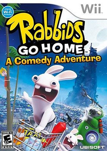 Rabbids Go Home - Wii Game