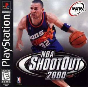NBA ShootOut 2000 - PS1 Game