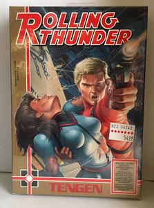New Rolling Thunder (Tengen) - NES Factory Sealed Game