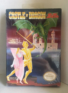 New Castle of Dragon - NES Factory Sealed Game