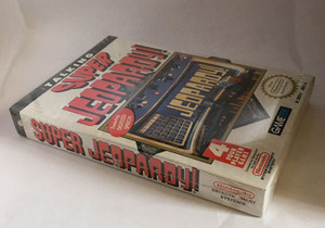 New Super Jeopardy - NES Factory Sealed Game