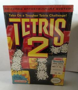 New Tetris 2 - NES Factory Sealed Game