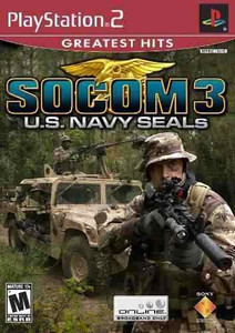 New Factory Sealed Socom 3: U.S. Navy Seals Greatest Hits - PS2 Game