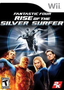 New Factory Sealed Fantastic Four: Rise of the Silver Surfer - Wii Game