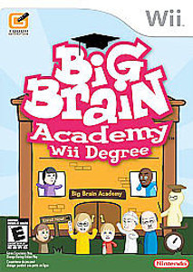 New Factory Sealed Big Brain Academy: Wii Degree - Wii Game