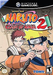 New Sealed Naruto: Clash of Ninja 2 - GameCube Game