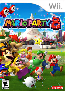 New Sealed Mario Party 8 - Wii Game
