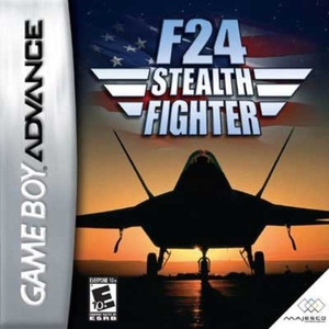 F-24 Stealth Fighter - Game Boy Advance Game