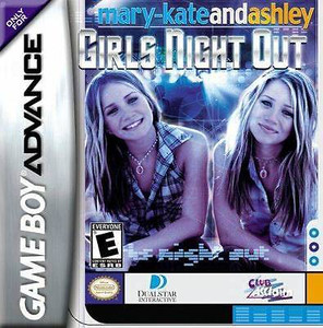Mary-Kate and Ashley Girls Night Out - Game Boy Advance Game
