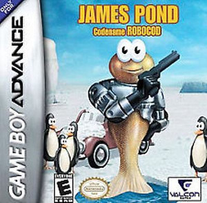 James Pond Codename Robocod - Game Boy Advance Game