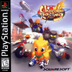 Chocobo Racing - PS1 Game