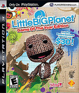 Little Big Planet Game of the Year Edition - PS3 Game
