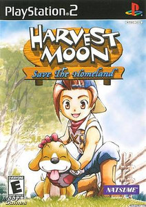 Harvest Moon: Save the Homeland - PS2 Game