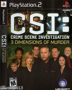 CSI: 3 Dimensions of Murder - PS2 Game