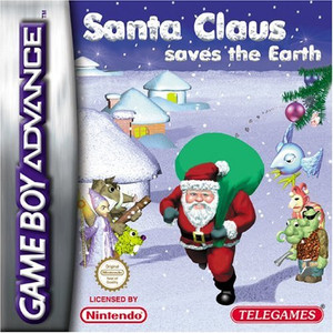 Santa Claus Saves the Earth - Game Boy Advance Game